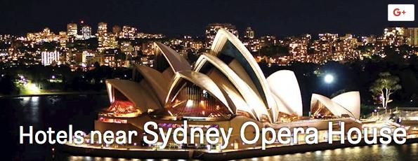 HOTELS near sydney opera house