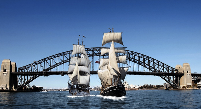 Sydney Harbor Tall Ships