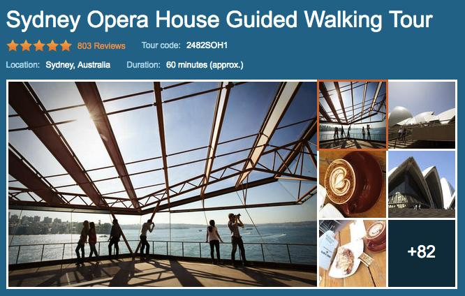 Sydney Opera House Guided Walking Tour