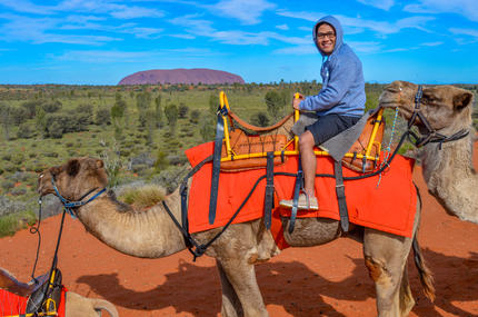 Uluru Camel Express Sunrise or Sunset Tour photos