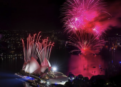 Sydney New Years Eve 2019 Fireworks photos