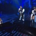 Three Wishez perform Turning Tables on The X Factor Australia Semi Final Live Shows 9