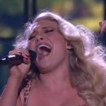 Anja Nissen sings Wild The Voice Australia 2014