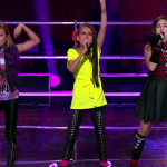 Eve, Belinda Jo and Adina Sing Wings The Voice Kids Australia 2014
